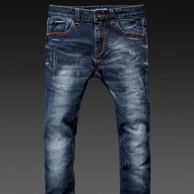 2016 New Famous Brand Vintage Men designer Casual Hole Ripped Jeans Mens Fashion Skinny Denim Pants Silm Fit Male A1676 кошелек fabula fabula mp002xw1amha