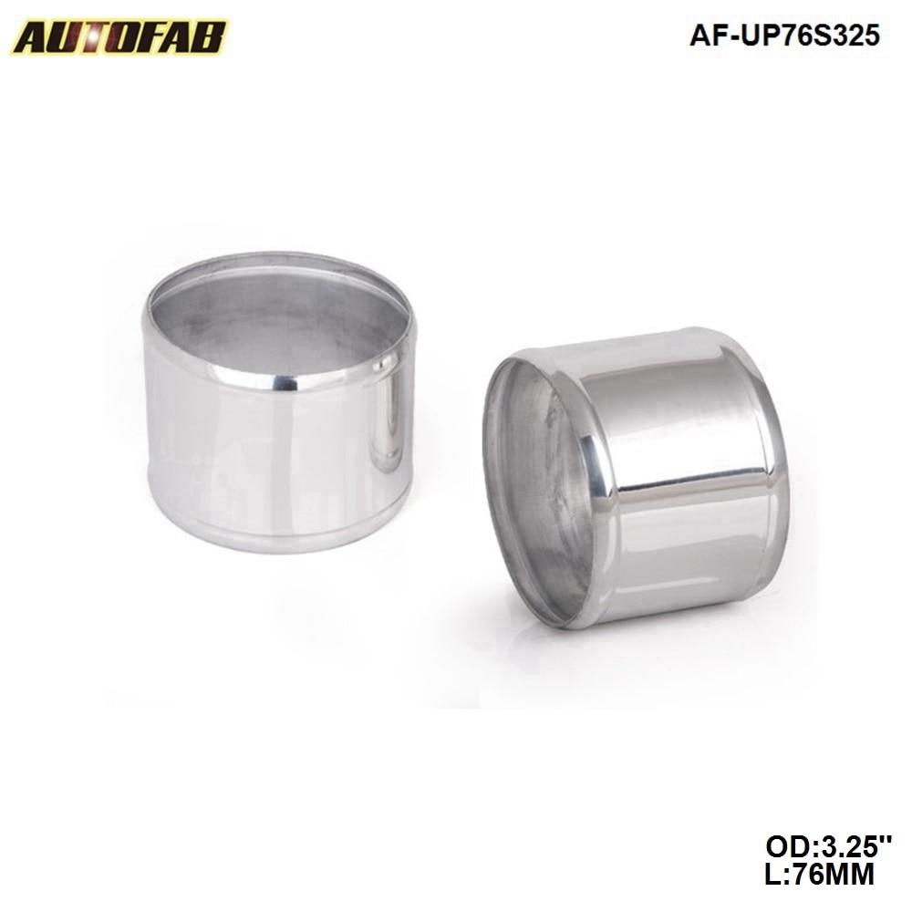 EPMAN 3.25 OD X 3 Long Aluminum Racing Intake//Turbo Intercooler Piping//Hose Joiner Pipe Silver