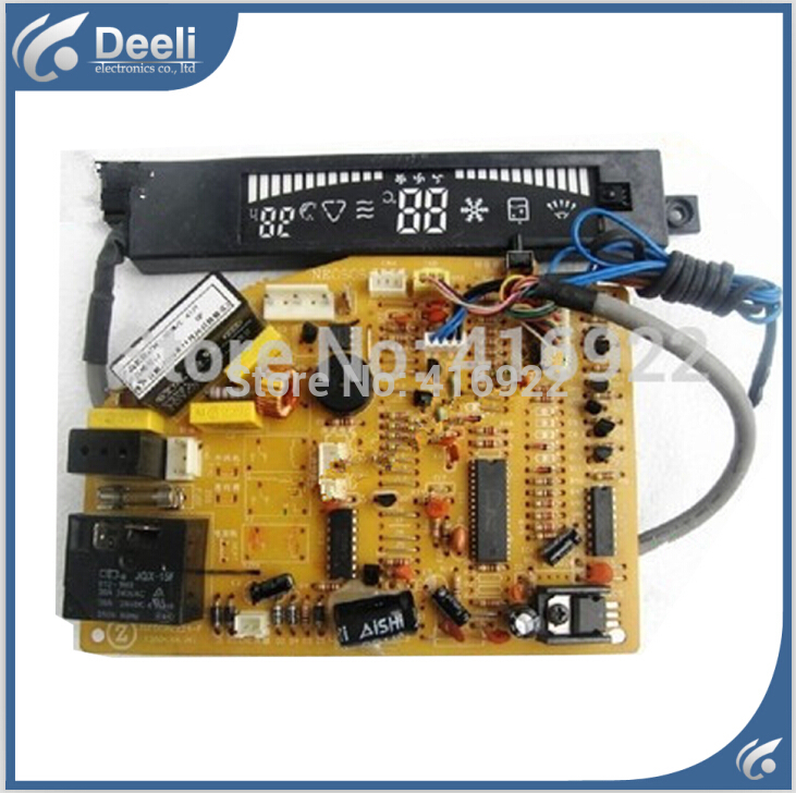 95% new good working for Chigo air conditioning computer board KF ZKF-35GW/E 59/1 circuit board display board 2pcs/set 95% new for haier refrigerator computer board circuit board bcd 198k 0064000619 driver board good working