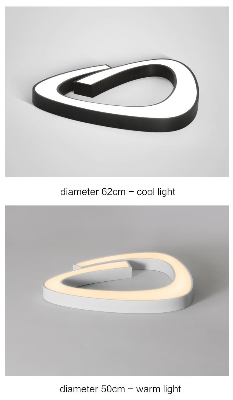 cozinha 5cm ultra fino luminárias ligitng