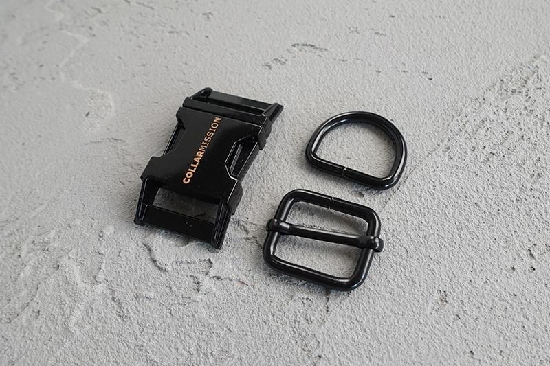 ajustar fivela + d anel conjunto) 25mm