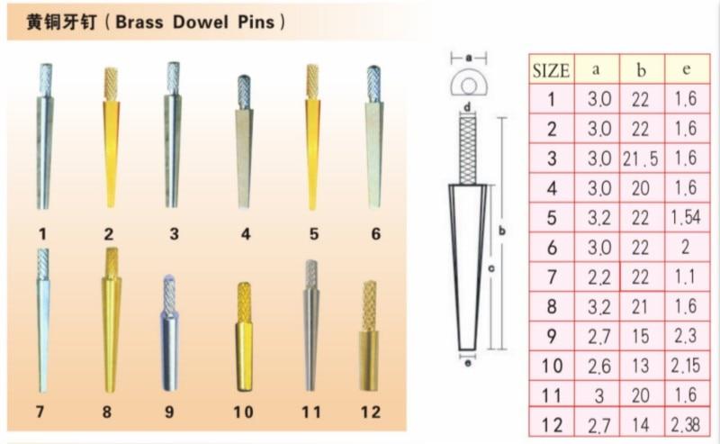 Ferramentas de material de laboratório dental pequeno