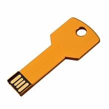 free shipping 16GB 32GB 64GB Metal Colorful Key 2.0 USB Flash Drive Memory U Disk Thumb Pen Stick