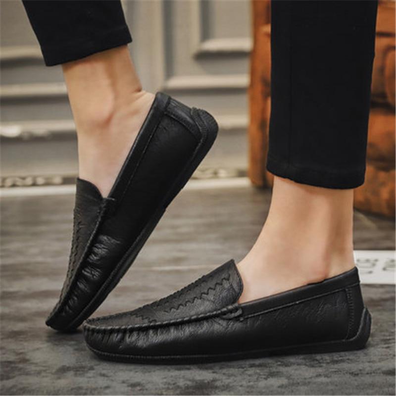 Sapatos Qualidade Dos Homem Luxo Designer Sapatas Couro Genunie Modelo Realmente De Homens brown Black Fashional Excelente gray SSq5AzOrwx