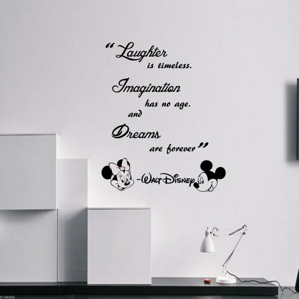 Bedroom wall art quotes - Kids Room Wall Stickers Quotes Laughter Is Timeless Dreams Are Forever Vinyl Wall Art Baby Room