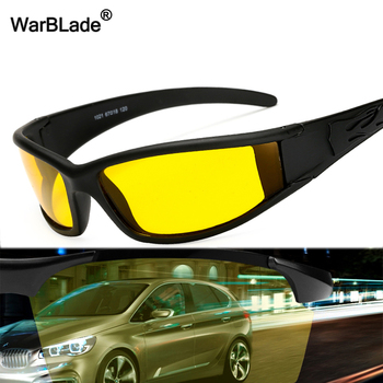 WarBLade New Polarized Sunglasses Men's Yellow Lens Protection Night Vision Driving Sun Glasses Male Goggles Eyewear For Driver