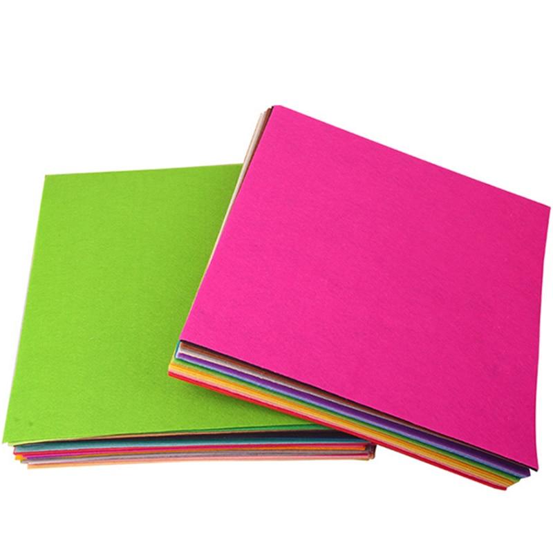 1 Stks 50 CM X 40 CM Vilt, Polyester, niet-geweven Vilt, 1 MM Dik, handgemaakte stof Kleuterschool creatieve DIY materialen
