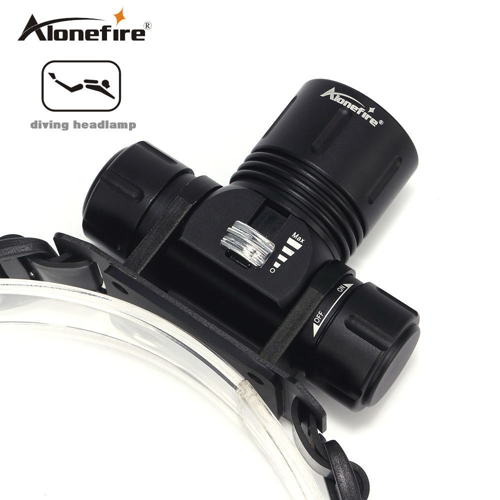 AloneFire DV42 waterproof Underwater XM-L XML L2 Headlamp Swimming Diving Headlight Dive Head Light Torch Lamp 18650AloneFire DV42 waterproof Underwater XM-L XML L2 Headlamp Swimming Diving Headlight Dive Head Light Torch Lamp 18650