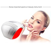 Professional 4 Colors LED Facial Mask Photon Light Energy Therapy Lamp Anti oxidation Anti Aging Facial Care Beauty Machine