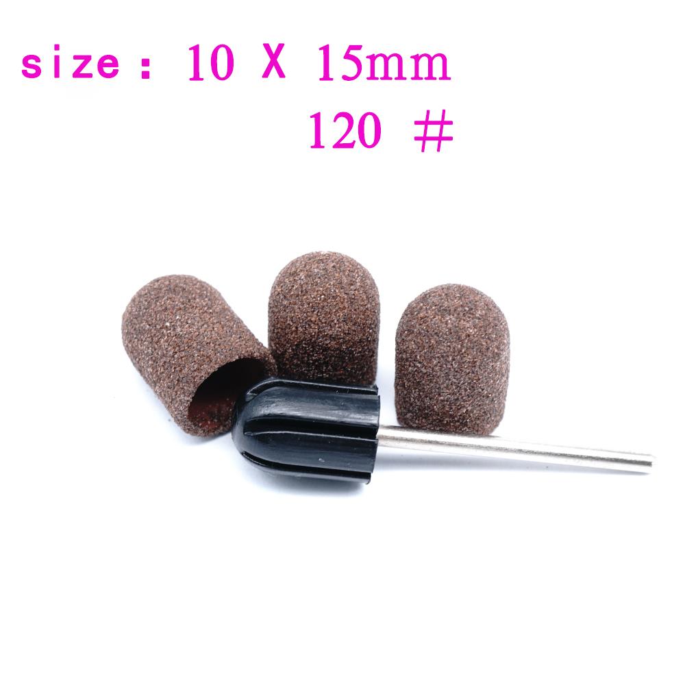 электрические ногтей дрель полировальный колпачок фреза для ногтей маникюр педикюр аппарат песок кольцо для ног полировки