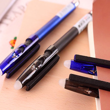 12 pcs/lot multi-functional erasable pen friction gel pen 0.5mm creative wholesale crystal touch screen pblue black/blue japanese pilot lkfb 80ef multi function four color red blue black and green erasable pen gel pen multi function pen 1pcs lot