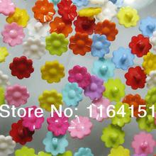 Clothing Sunflower-Buttons Scrapbooking-Supplies Craft Accessories15mm Children's 50pcs