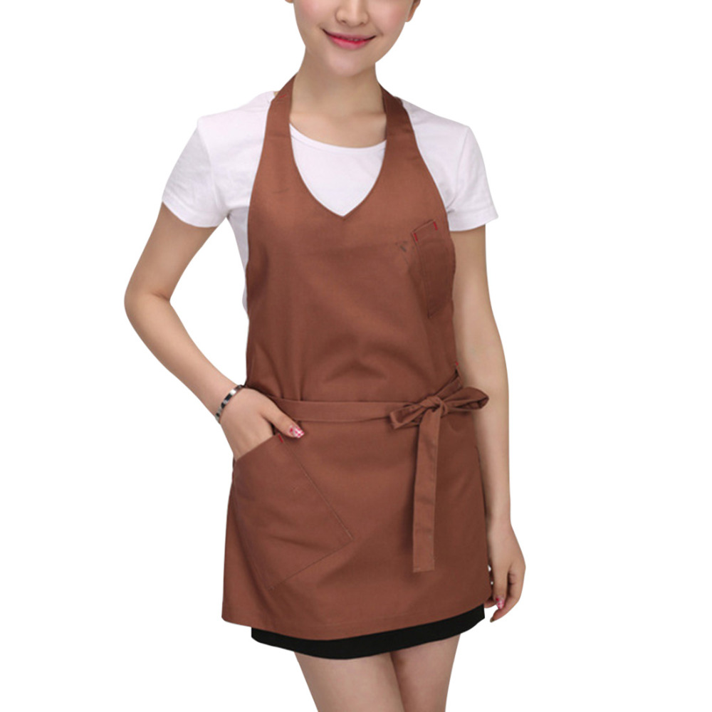 Vintage Aprons Men Women Kitchen Cooking Kitchen Work Apron Adult Bib Waitressing Cleaning Apron Household Cleaning Tools