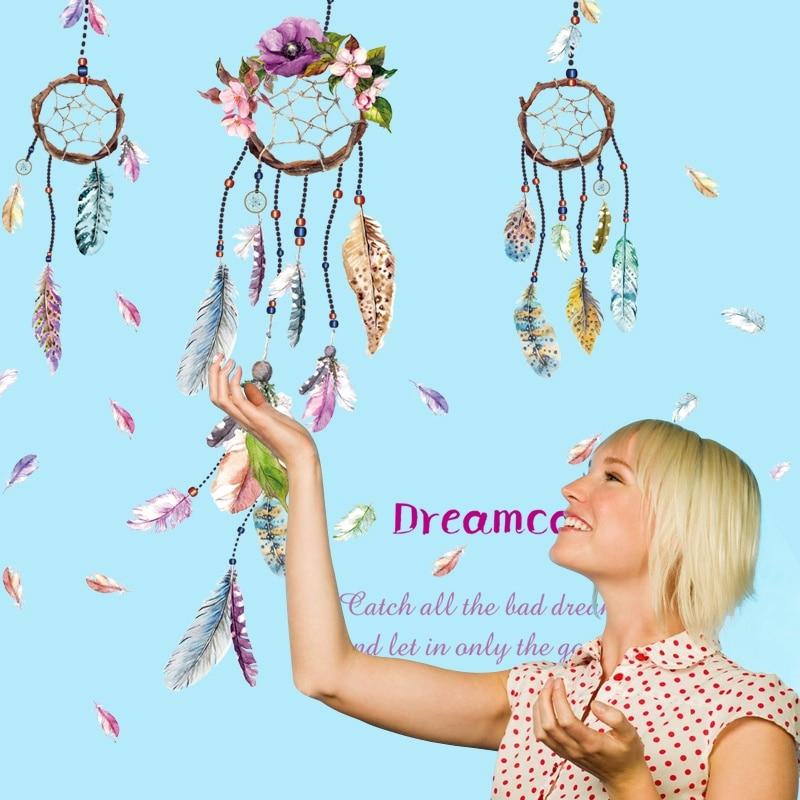 Quote Dreamcatcher Dream Catcher Βινύλιο Removable - Διακόσμηση σπιτιού - Φωτογραφία 3
