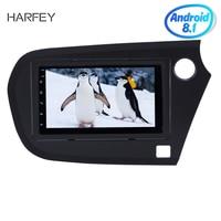 Harfey 7for 2009 2016 Honda Insight RHD Android 8.1 Radio GPS Navi HD Touchscreen Bluetooth FM Wifi Link car Multimedia player