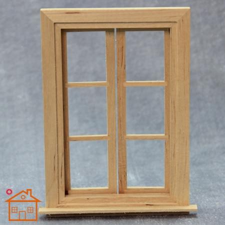 1 12 Doll House Window Handmade Diy Cabin Mini Villa Door Windows Play