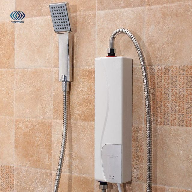 220V 3000W AU Plug Instant Electric Water Heater Indoor Bathroom Supplies Household Practical Double Shell Water Heating