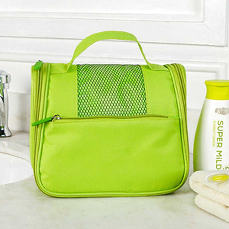 Kobieta Makijaż Toaletowe Zestaw Torba torebka Korea Wielofunkcyjny Organizator Przechowywania Wodoodporna Kosmetyczka Wash Piknik torba podróżna
