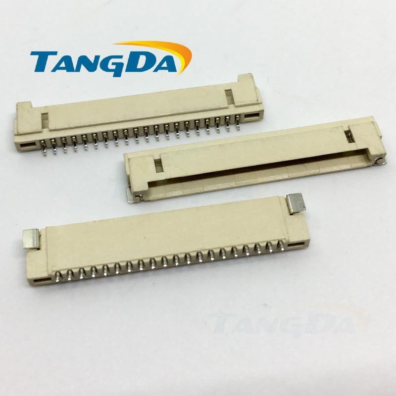 Tangda DF14 20P 1.25H socket LCD screen DF14 connector pitch: 1.25mm 20pin DF14-20P-1.25H A.