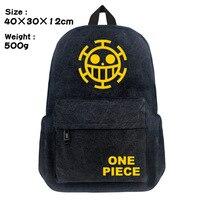 One Piece Anime Fashion Shoulder Bag Men Women Daypack Travel Rucksack Canvas Backpack Student School Bag for Gift