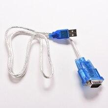 1 шт. Новый USB 2.0 для RS232 COM Порты и разъёмы Серийный КПК 9-контактный DB9 Кабель мужчинами M/ М адаптер для ПК PDA GPS 80 см
