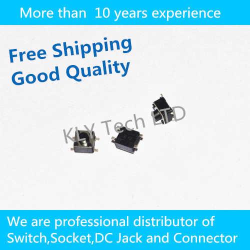 Бесплатная доставка 200 шт./лот сенсорный переключатель 4.5*4.5*4.3 мм Переключатель SMD 4 фута переключатель кнопочный переключатель