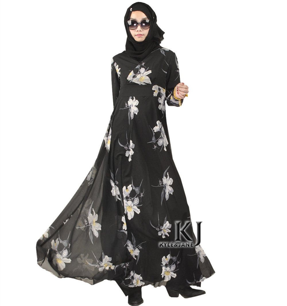 Fashion Muslim Dress font b Abaya b font in Dubai font b Islamic b font Clothing