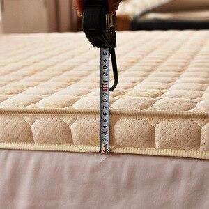 Image 3 - Luxury 100% Cotton Quilted Mattress filled massage thicken 7cm memory foam mattress