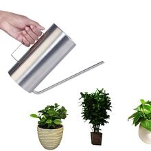 цена на None 1.5L Stainless Steel Watering Flower Kettle Long Mouth Watering Pot Gardening Tools