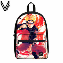 VEEVANV Clutch Men Bag Anime Uzumaki Naruto Kakashi With Zip Pockets Portfolio Backpack For School Girl Boys Luxury  Women Bags