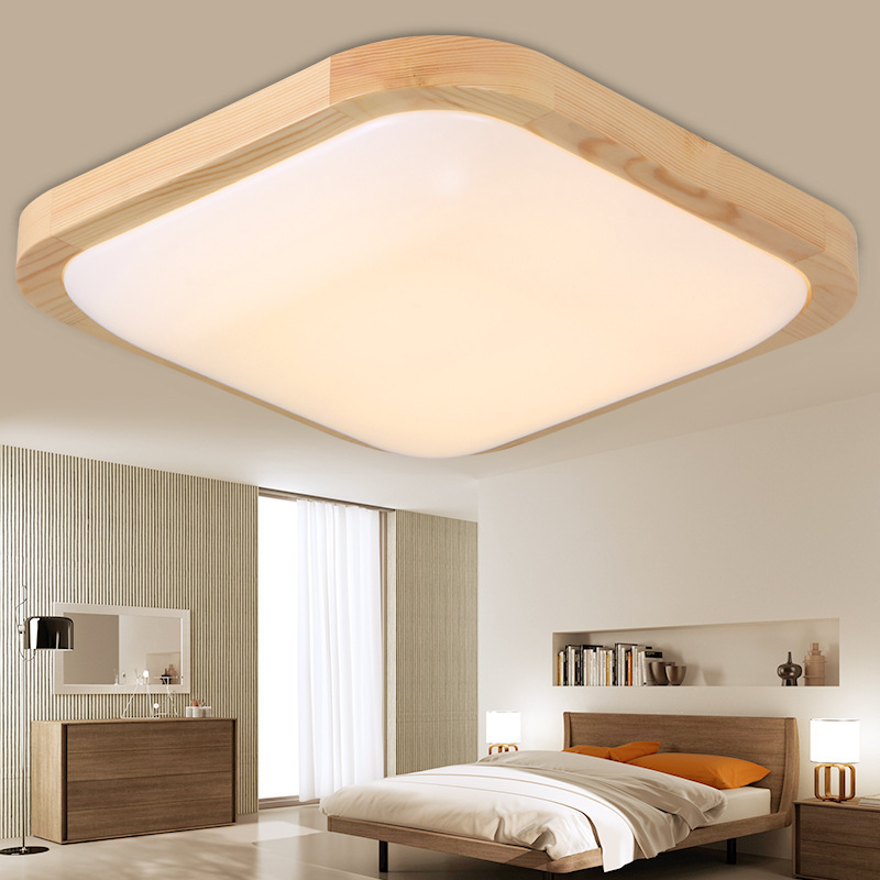 Japanese style Delicate Crafts Wooden  tatami led ceiling lights luminarias para sala dimming led ceiling lampJapanese style Delicate Crafts Wooden  tatami led ceiling lights luminarias para sala dimming led ceiling lamp