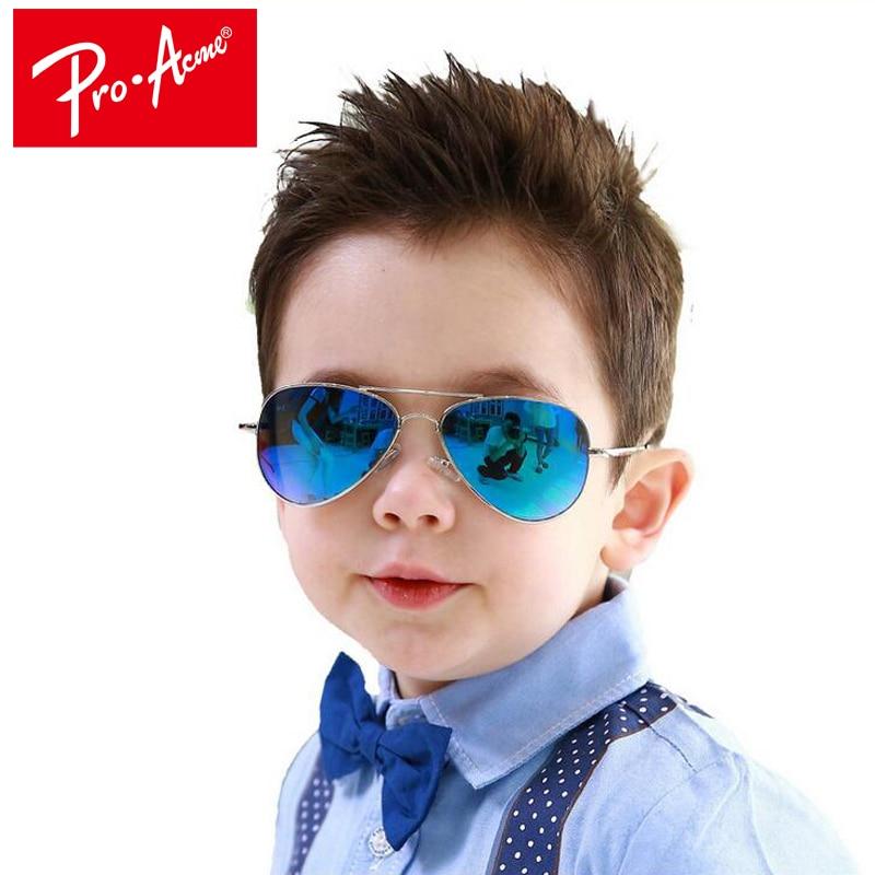Pro Acme Fashion Kids Sunglasses Aviation Children Sun glasses Pilot Baby Sunglasses 100%UV Protection Oculos De Sol CC0610 cool e sha vintage pilot boy girls kids sunglasses brand designer children sun glasses oculos de sol gafas lunette de solei