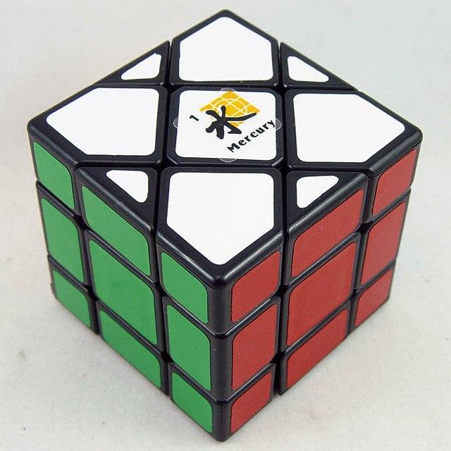 Dayan Bermuda Triangle Magic Cube preto Mercury