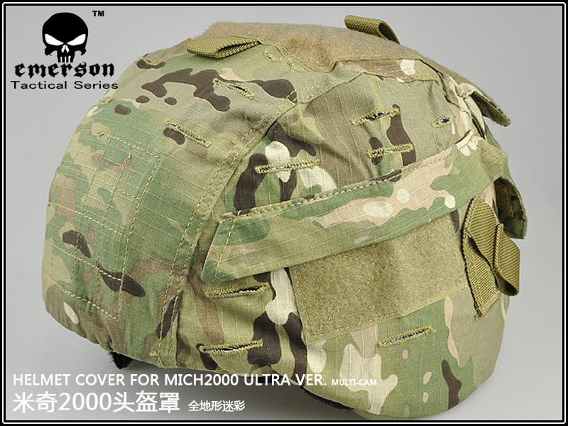 Emerson MICH 2000 Helmet cover/ airsoft helmet accessories BD1820 Multicam free Shipping