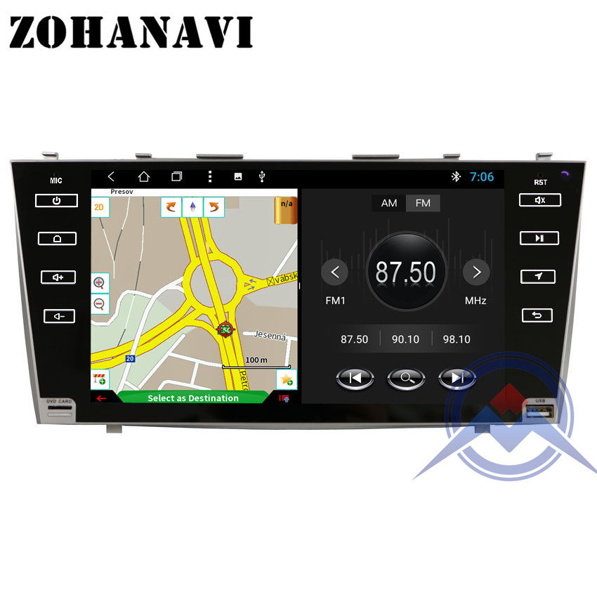 TEYES CC2 For Toyota Camry 7 40 50 2006-2011 Car Radio Multimedia Video  Player Navigation GPS Android 8 1 No 2din 2 din dvd