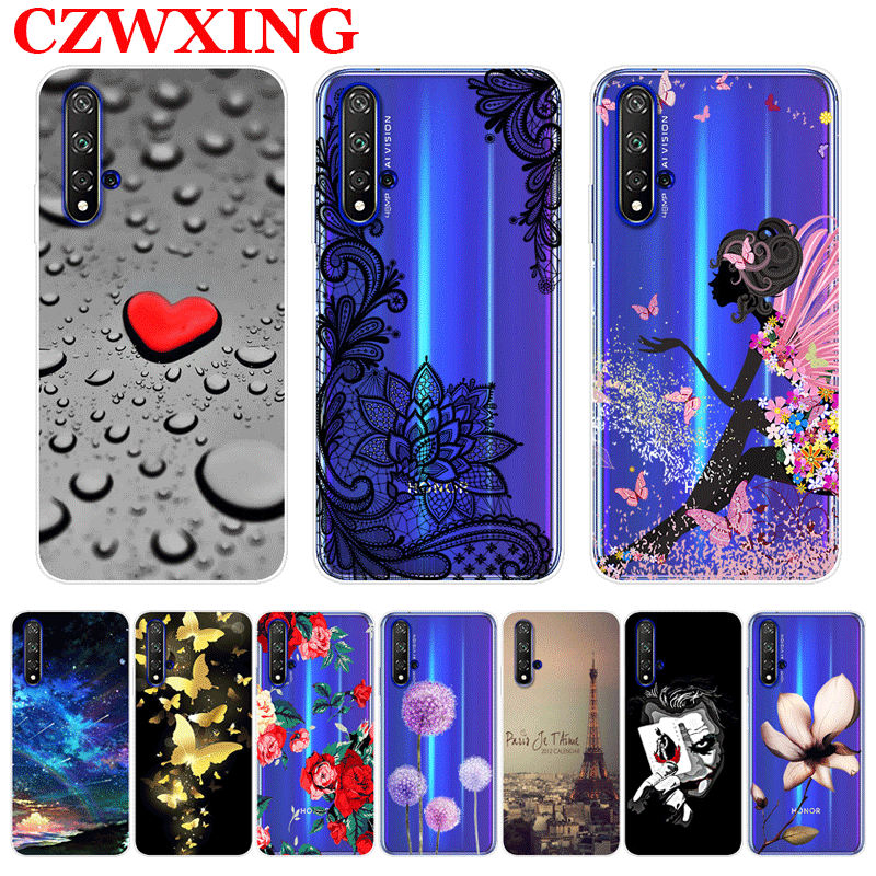 For Honor 20 Case Silicone TPU Soft Phone Case For Huawei Honor 20 Pro 20Pro Honor20 Lite YAL-L41 20i Cover