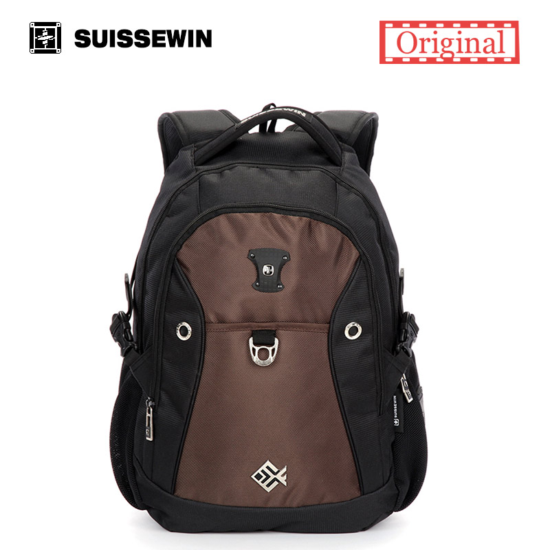 ФОТО Suissewin Backpack Male Casual Backpack For Teenagers 13