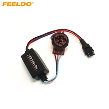 FEELDO 1PC DC12V 3157A Canbus Error Free Resistor LED Decoder Warning Error Canceller For LED Turn Signal Bulb #MX2266