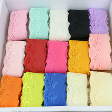 2cm 205yards of cotton lace fabric DIY fabric lace flower gift ribbon decoration materials colour cotton lace inside interiors of colour fabric glass light