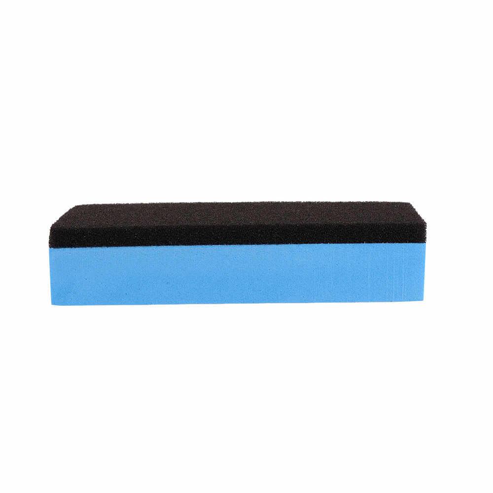 Cuci Mobil Busa Lapisan Lacquer Spons Mobil Pemeliharaan Waxing Spons untuk Kaca Keramik Coating Aplikator Pembersih Mobil