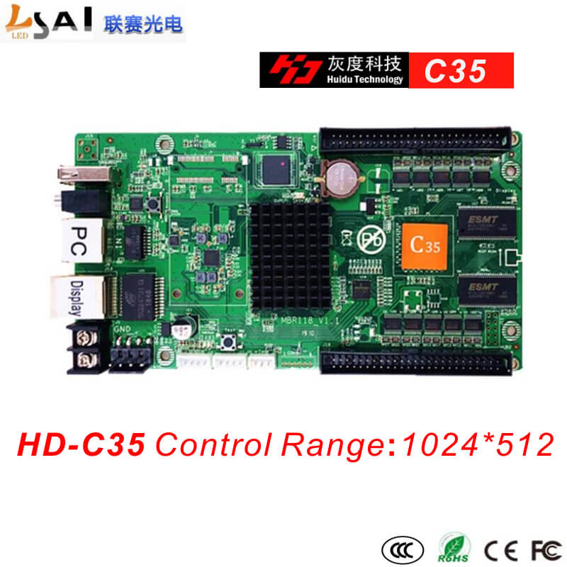 Full-color Async controllers C35 1024*512 2of50PIN