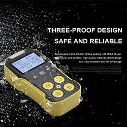 H2S O2 CO LEL detektor alarmu gazowego bezprzewodowy cyfrowy wyświetlacz LED wykrywacz gazów palnych wycieku naturalnego dla system alarmowy w domu