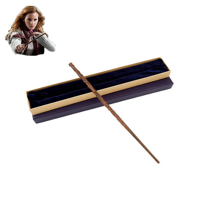 Colsplay Metal Core Hermione Granger Magic Wand Magical Wand/ High Quality Gift Box Packing