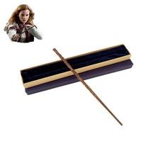 Colsplay Metal Core Hermione Granger Magic Wand Magical Wand/ High Quality Gift Box Packing wizarding world of magic wand wand magic luna lovegood wand with box
