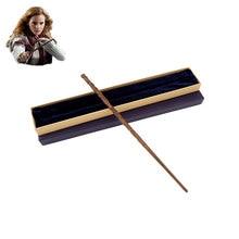 Colsplay hermione granger varinha mágica, metal core, varinha mágica/caixa de presente de alta qualidade