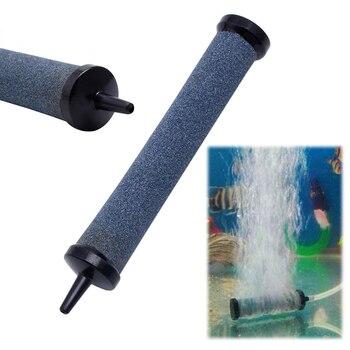 1 unidad acuario pecera aire Piedra difusora de burbujas Bar Bomba de aire, de oxígeno aire fresco Piedra difusora de burbujas Bar aireador bomba hidropónica