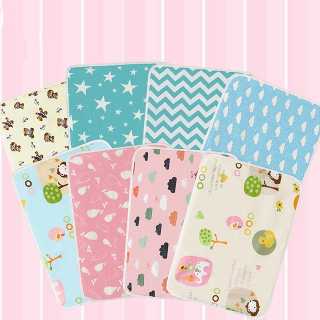 Baby Nappy Changing Pad Cotton Waterproof