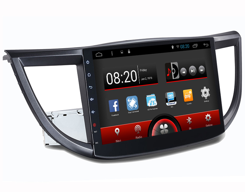 Quad Core, 16GB Nand Flash, Pure Android 4.4.4 System 10.2 inch Screen Auto radio car dvd gps navigation for Honda CRV 2012-2015