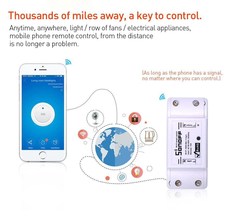 Itead Sonoff Smart Wifi Switch