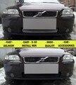 Grade de malha caso para Volvo S60 2004-2010 estilo do carro moldagem decoração tampa de proteção inoxidável